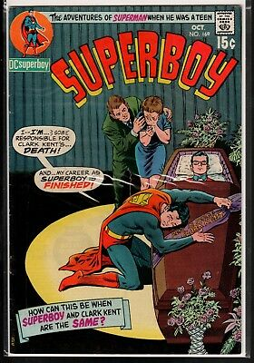 Superboy #169 FN/VF 7.0 DC Silver Age Classic 1970!!!