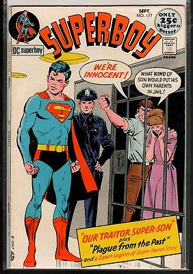 Superboy #177 VF+ 8.5 DC Bronze Age Giant 1971!!!