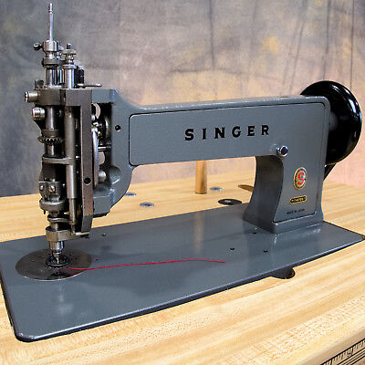 Singer 114E103 Chain Stitch Embroidery Sewing Machine Complete W Servo Motor