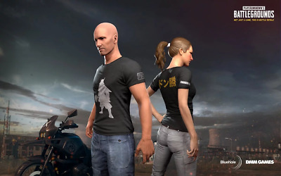 PUBG DMM T-Shirt Playerunknown's Battlegrounds Limited Edition DMM-Shirt Code