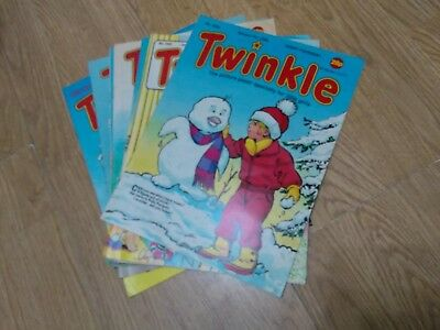 Bundle of 7 Vintage Twinkle Comics 1989