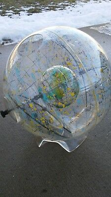 1968 Vintage FARQUHAR Constellation GLOBE with STAND