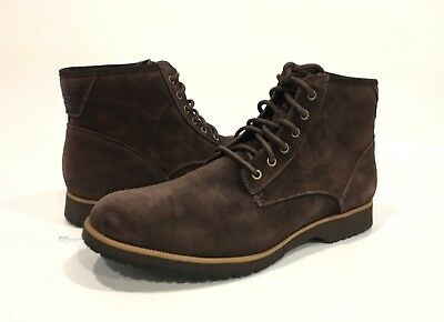 4f4b161016c UGG MOREAU LACE-UP Ankle Boots Stout Brown Suede Chukka -Us Size 13 -New