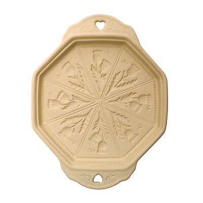 Kilo Shortbread Mould Baking Stone Thistle Pattern Shortbread Biscuit Mould