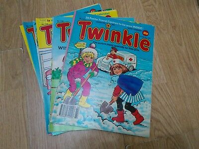 Bundle of 10 Vintage Twinkle Comics 1990