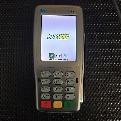 Vx820 ENCRYPTED and READY for SUBWAY incl STAND and Datalogic Gryphon QR scanner