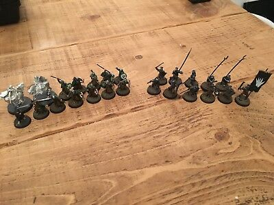 Lord Of The Rings Miniatures, Games Workshop, Mixed Job Lot, Warhammer