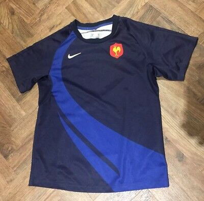 Kids Childs Youth Junior Nike France French Rugby Union Jersey Shirt Age 12/13