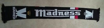 MADNESS  SCARF+ 3 MADNESS Pin BADGES - SKA,NUTTY BOYS...NEW