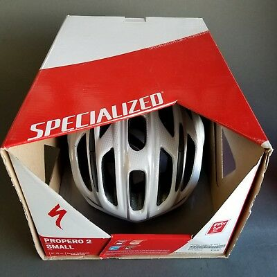 7defc35e0f1 Brand New Specialized Propero II 2 Cycling Helmet wHITE Small 246 GRAMS
