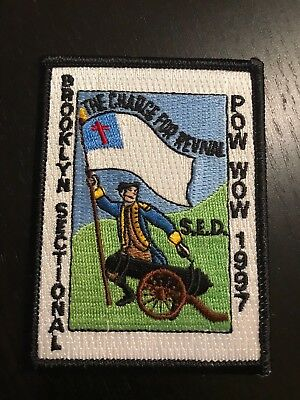 2007 Royal Rangers Brooklyn Section Camp patch Spanish Eastern District SED