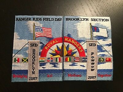 2007 Royal Rangers Brooklyn Section Camp Kids Spanish Eastern District SED RARE