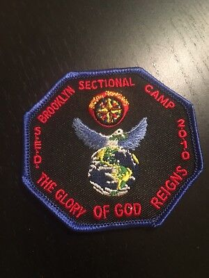 2010 Royal Rangers Brooklyn Section Spanish Eastern District Camp patch SED