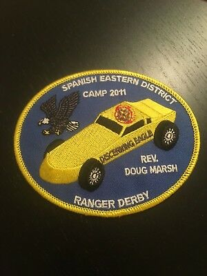 2011 Royal Rangers Spanish Eastern District Camp Derby patch SED