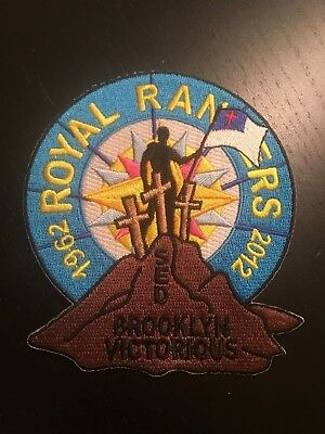 2012 Royal Rangers Brooklyn Section Camp patch Spanish Eastern District SED 50yr