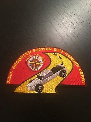 2012 Royal Rangers Brooklyn Section Derby patch Spanish Eastern District SED