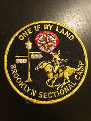2015 Royal Rangers Brooklyn Section Camp patch Spanish Eastern District SED