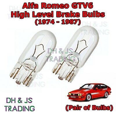 Alfa Romeo Spider 65w Clear Xenon HID Low Dip Beam Headlight Headlamp Bulbs Pair