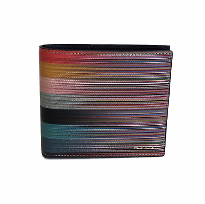 Handy-zubehör Paul Smith Signature Multi Stripe Leather Phone Pouch Business Card Holder Bnwt Kleidung & Accessoires