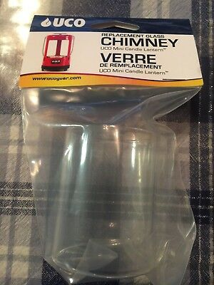 UCO Original Candle Lantern Replacement Glass Chimney