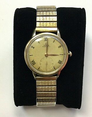 Vintage OMEGA 14K Gold Filled Unadjusted 17 Jewels F6212 Automatic WATCH