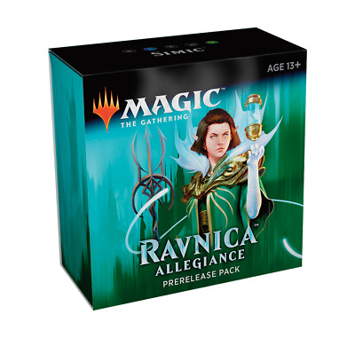 SIMIC Ravnica Allegiance Prerelease Pack Blue Green Magic the Gathering NEW