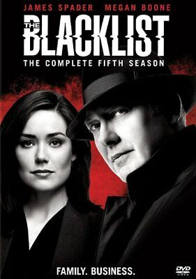 The Blacklist: The Complete Fifth Season (DVD, 2018, 5-Disc Set) Sealed