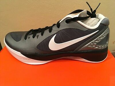 100% authentic 34149 78048 Nike Womens Volley Zoom Hyperspike Volleyball Cool Grey Black 585763-011 Sz  11.5