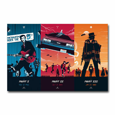Z187 BACK TO THE FUTURE Movie Hot Silk Poster 36x24 40x27