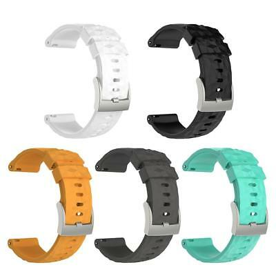 Silicone Bracelet Wrist Band Strap Replacement for Suunto Spartan Smart  C#P5