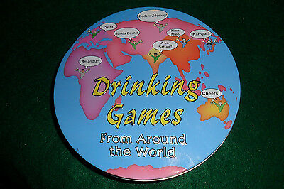Drinking Games From Around the World in Tin - Kheper Games 2006 - Complete! VGC