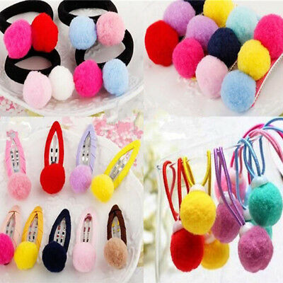 Wholesale Mix Mini Pretty Plush Pompom Balls DIY Sewing Craft Decor Kids Toy 1cm