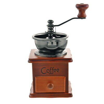 US Stock Manual Coffee Bean Spice Nuts Grinder Hand Mill Grinding new