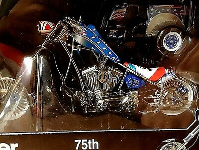 Orange County Choppers Miller Welder 75Th Anniversay Bike And Trailer With Box