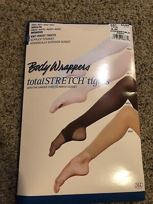 Body Wrappers A81 Ballet Pink Women's Small/Medium Convertible Tights