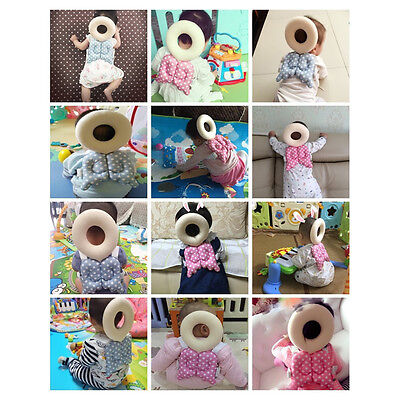Baby Kids Head Protection Pillow Pad Toddler Head Back Care Cute Resistance~FB