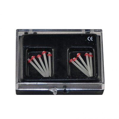3 box RED 1.2MM 10Pcs Dental Fiber Post Glass Set Refill Drill Thread Files