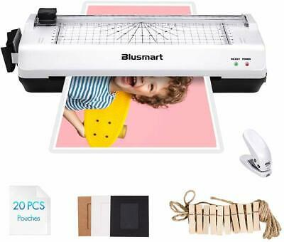 Thermal Laminator Machine Office Home Photo Crad Warm Up Fast Pouches Dust Free