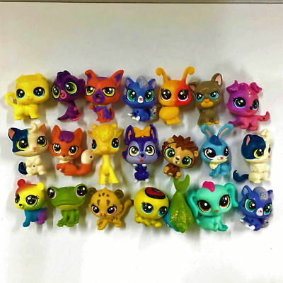 Lot10PCS Littlest Pet Shop Mini LPS Cute Animals Pet Figure baby dolls - Random