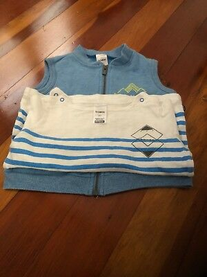 Baby Bonds Boy Jumper And Vest Size 2