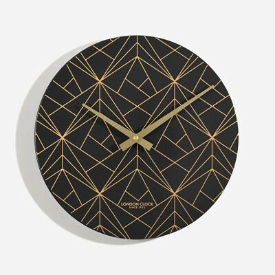 London Company Fragment Metal Silent Sweep Wall Clock 30x30cm **FREE DELIVERY**