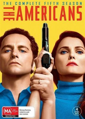 THE AMERICANS Season 5 (Region 2 UK Compatible) DVD The Complete Series Five