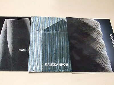Kamoda Shoji A Retrospective 3 Vol The 20Th-Century Ceramics Legend 1999-2003
