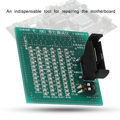 Analyzer Diagnostic Tester Test Card Repairing Tool For LGA AM2 AM3 Motherboard