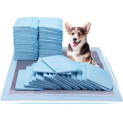50-300PCS Disposable Fluff  23X17 Pet Puppy Dog Cat House Training Wee Wee Pad