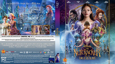 The Nutcracker and the Four Realms(2018) BLU-RAY ONLY PRE-ORDER SHIPS 1-29-19