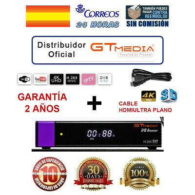 Receptor Satélite Freesat V7 HD Digital DVB-S2 + USB Wifi + 1080P HD + 24H