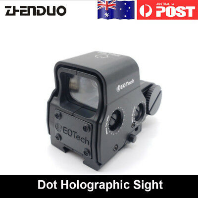 1Pc Green/Red Dot Holographic Sight For Jinming M4A1 Gel Ball Blaster Toy Gun AU