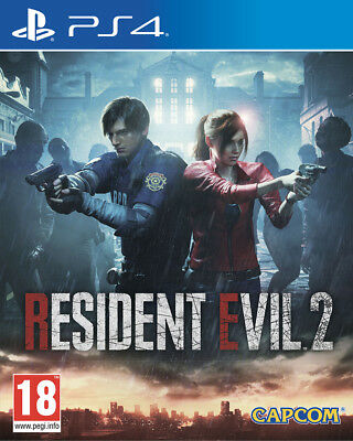 Ps4 Resident Evil 2 Eu   Multilingue  Data Di Uscita: 25/01/2019