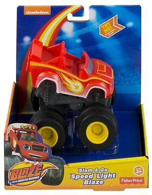 Blaze and the Monster Machines Slam & Go Speed Light Blaze Toy Truck